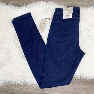 NYDJ Womens Tall 12 Long Alina Legging Dark Wash Jeans Stretch